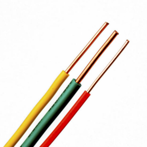 Environmentally Friendly European 300/500V PVC Insulated Copper Electrical Wire