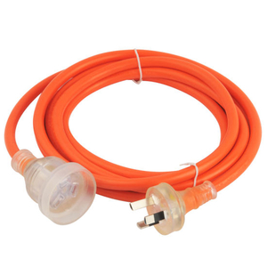 Australian Transparent Extension Cord with SAA Certification (AL-103+AL-104)