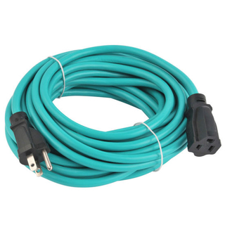 Us 3-Pin Single-Outlet Extension Cord