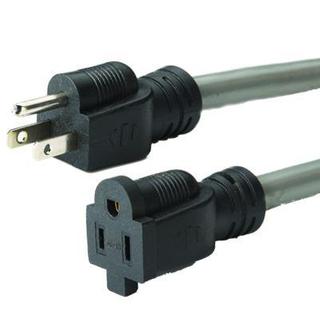 American 1-15p 3pins Power Cord (AL-12+AL-13)
