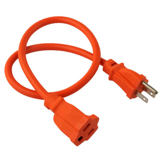 Us Hot Sale Waterproof 3 Pin 13A 125V Extension Cord