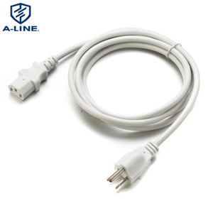 America Three Pins Power Cord with C13 Connector