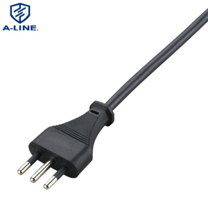 Free Sample Imq Approved 3 Pin Italian AC Power Cord