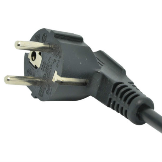 European Standard 10A 3 Pin Extension Power Cord with C13 Connector