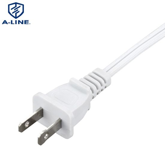 Us 2 Prong AC Power Cord with IEC C7 Connector OEM Factory UL Certification